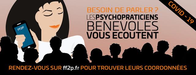 COVID-19 : les psychopraticiens bénévoles vous écoutent