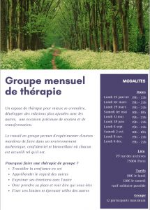 Flyer groupe