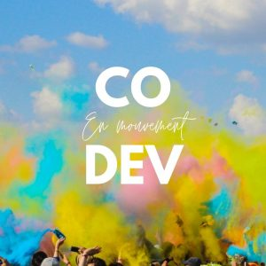 Logo codev en mouvement